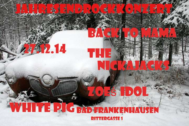 27.12.2014, White Pig Bad Frankenhausen
